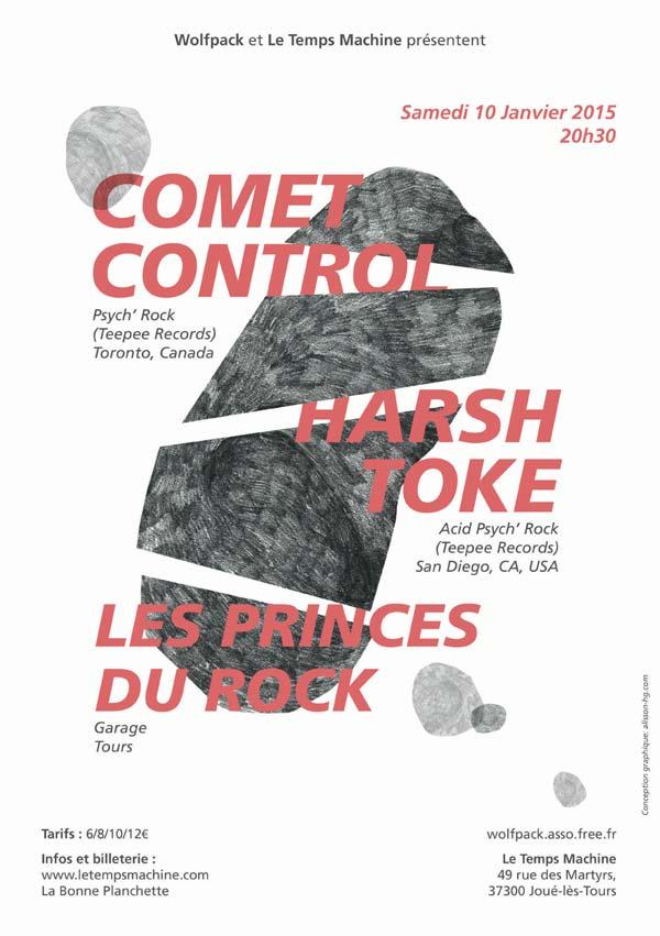 Comet Control @ Joué-les-Tours